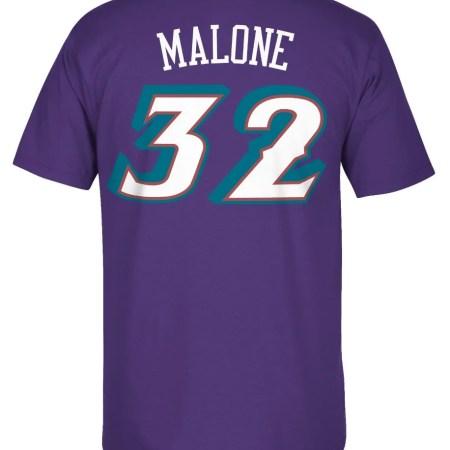 "Karl Malone Utah Jazz Adidas NBA ""Soul Swingman"" Participant T-Shirt 43b82890 f948 485d 96d6 92e640dc06bb 1"