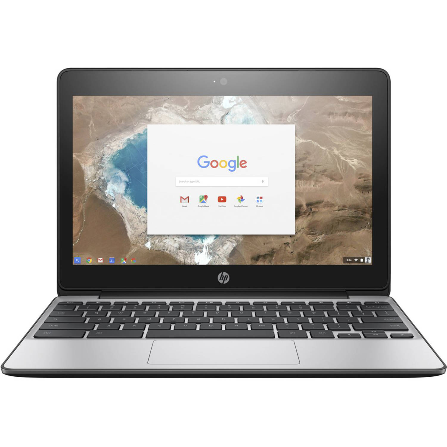 Refurbished HP 11v010wm 116quot Chromebook Chrome Intel