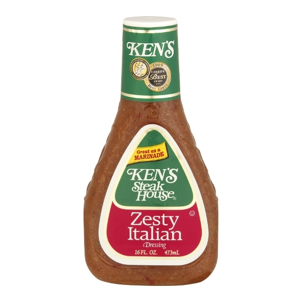 Kens Steak House Steak House Zesty Italian Dressing 16