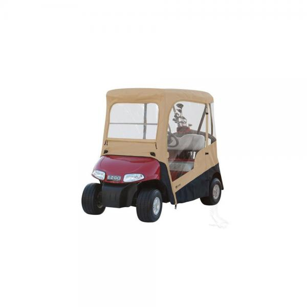 ezgo windshield sears garage door wiring diagram drivable enclosure with zip off rxv walmart com