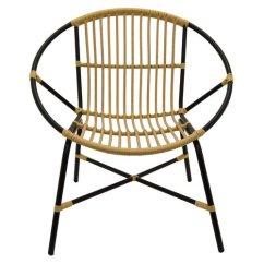 Metal Papasan Chair Navy Blue Dining Cushions Wrought Studio Trower And Plastic Walmart Com