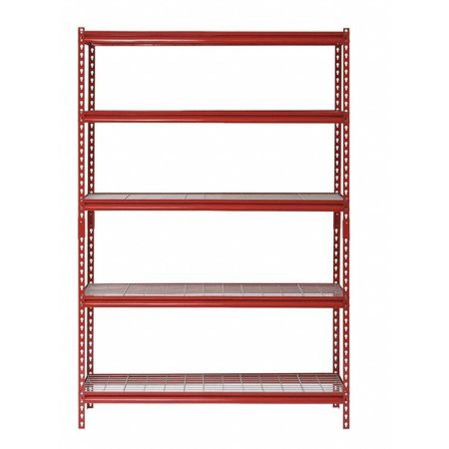 sandusky ur601872wd5 r bulk storage rack 18 d x 60 w x 72 h 5 shelves