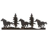 Running Horse & Trees Metal Wall Art - CLEARANCE - Walmart.com