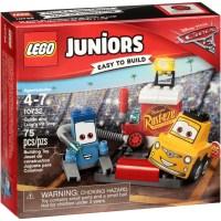 Lego Juniors Disney Pixar Cars 3 Guido and Luigi's Pit ...