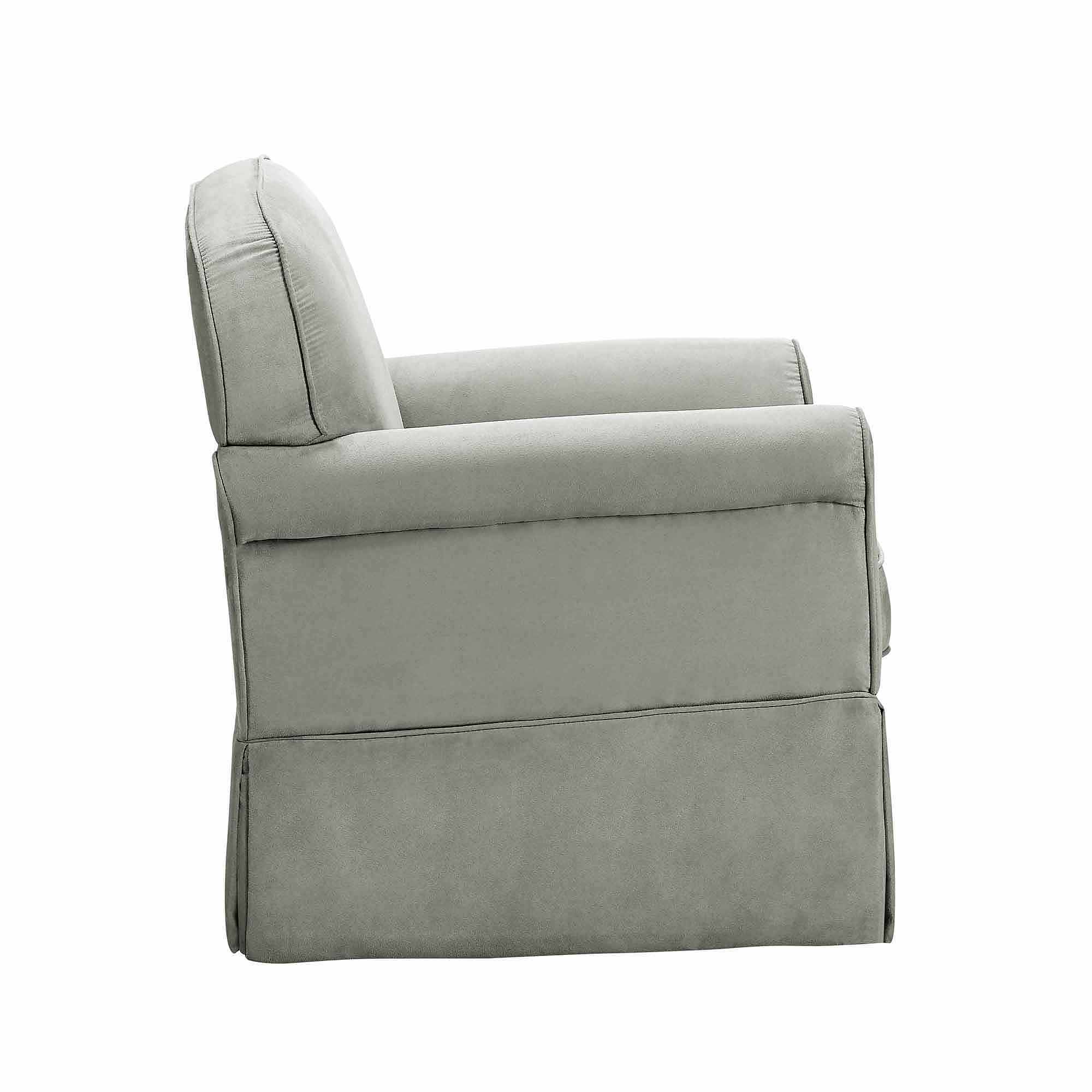 toys r us glider chair new padding for dining room chairs baby relax evan swivel and ottoman gray walmart com