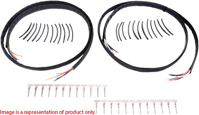 Novello Handlebar Wire Harness Extension Kit 12in. NIL
