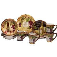 Fleur De Lis Living Aldergrove 16 Piece Dinnerware Set