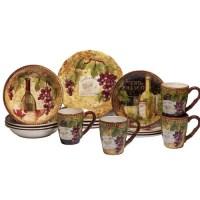 Fleur De Lis Living Aldergrove 16 Piece Dinnerware Set ...