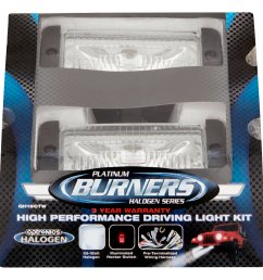optronics burners platinum halogen series high performance driving light kit walmart com [ 2365 x 2365 Pixel ]