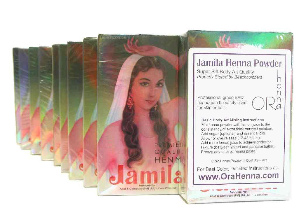 kilo jamila henna body