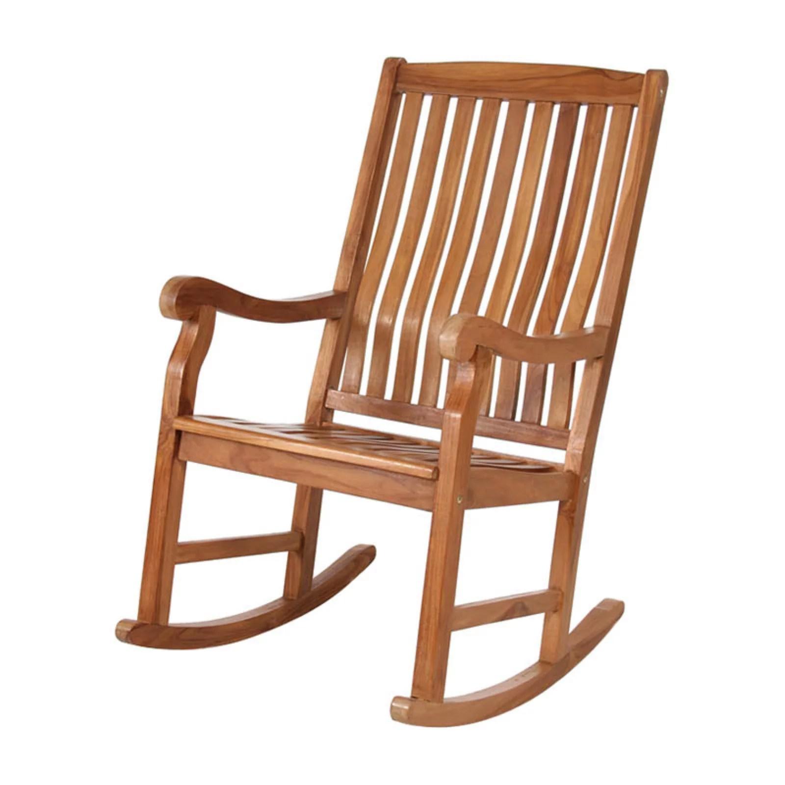 cedar rocking chairs office chair high seat all things teak walmart com