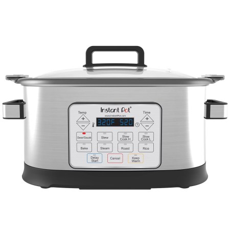 Instant Pot Gem 6 Quart 8-in-1 Programmable Multicooker with Advanced Microprocessor Technology