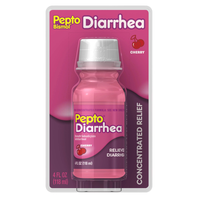 Pepto Bismol Diarrhea Liquid Anti Diarrhea Medicine for ...