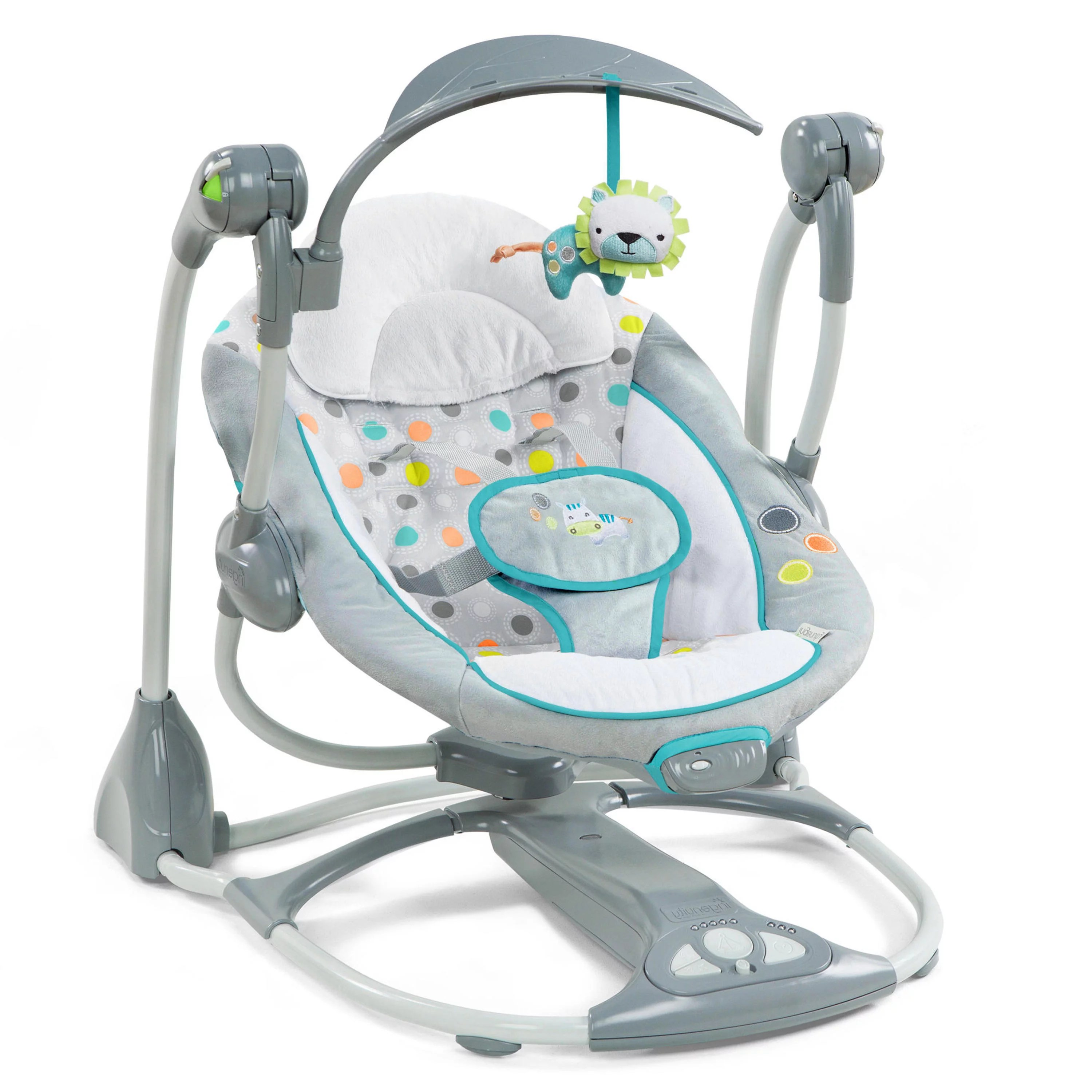 bouncy chair target chairs for sleeping upright ingenuity ridgedale collection playard and swing value set