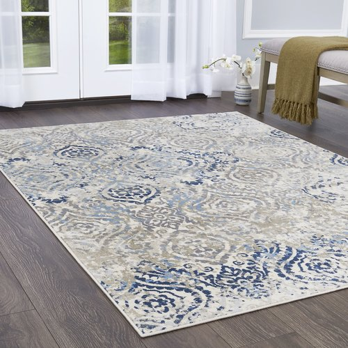 living rooms with blue area rugs room furniture designs bungalow rose rondo medallion ivory rug walmart com