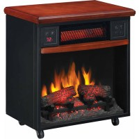 DuraFlame PowerHeat Infrared Quartz LED Portable Fireplace ...