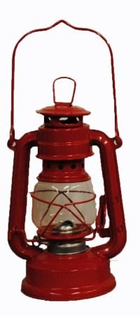 Red Hurricane Kerosene Oil Lantern Emergency Hanging Light ...