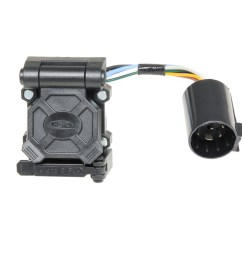 hopkins towing solution 40999 plug in simple endurance multi tow vehicle to trailer wiring harness 7 blade 5 and 4 flat connector with harness qty 25  [ 1500 x 1001 Pixel ]