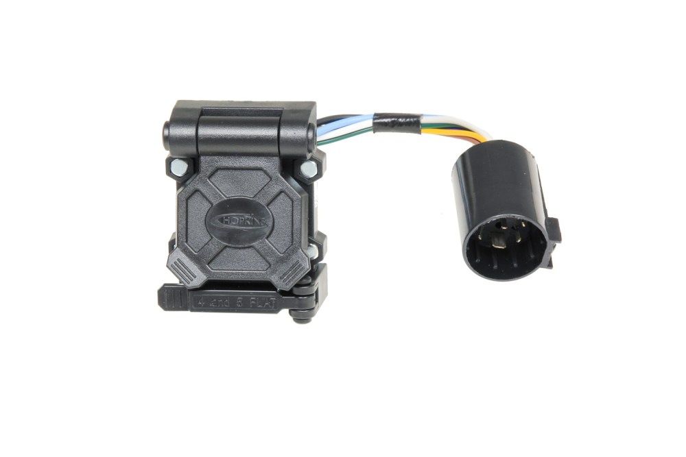 medium resolution of hopkins towing solution 40999 plug in simple endurance multi tow vehicle to trailer wiring harness 7 blade 5 and 4 flat connector with harness qty 25