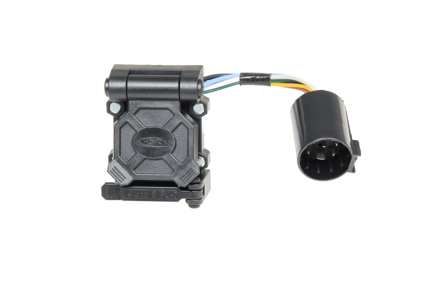 hight resolution of hopkins towing solution 40999 plug in simple endurance multi tow vehicle to trailer wiring harness 7 blade 5 and 4 flat connector with harness qty 25