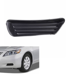 left side front bumper fog light cover for toyota camry 5212706050 to1039124 walmart com [ 1200 x 1200 Pixel ]