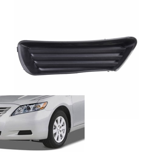 small resolution of left side front bumper fog light cover for toyota camry 5212706050 to1039124 walmart com