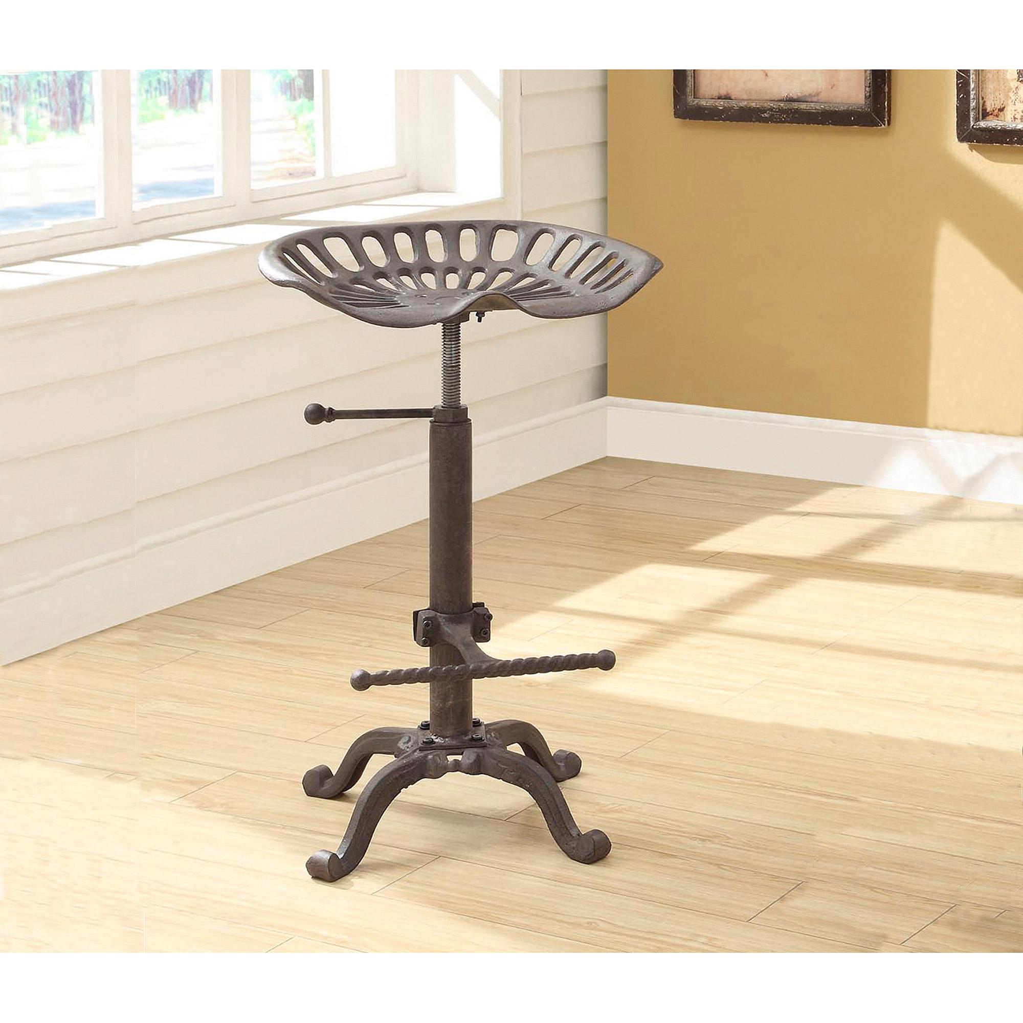chair plus stool loose covers ireland hunter adjustable tractor seat walmart com