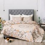Monika Strigel Boho Summer Grey Comforter By Deny Designs Walmart Com Walmart Com