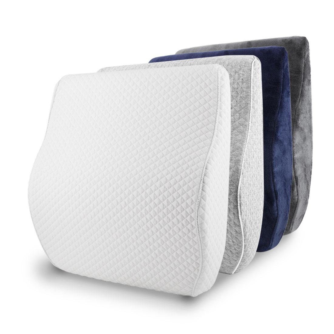 lumbar support memory foam lower back