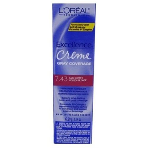 L Oreal Excellence Creme Permanent Hair Color Dark Copper