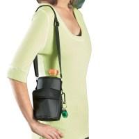 Water Bottle Holder With Shoulder Strap, Black - Walmart.com