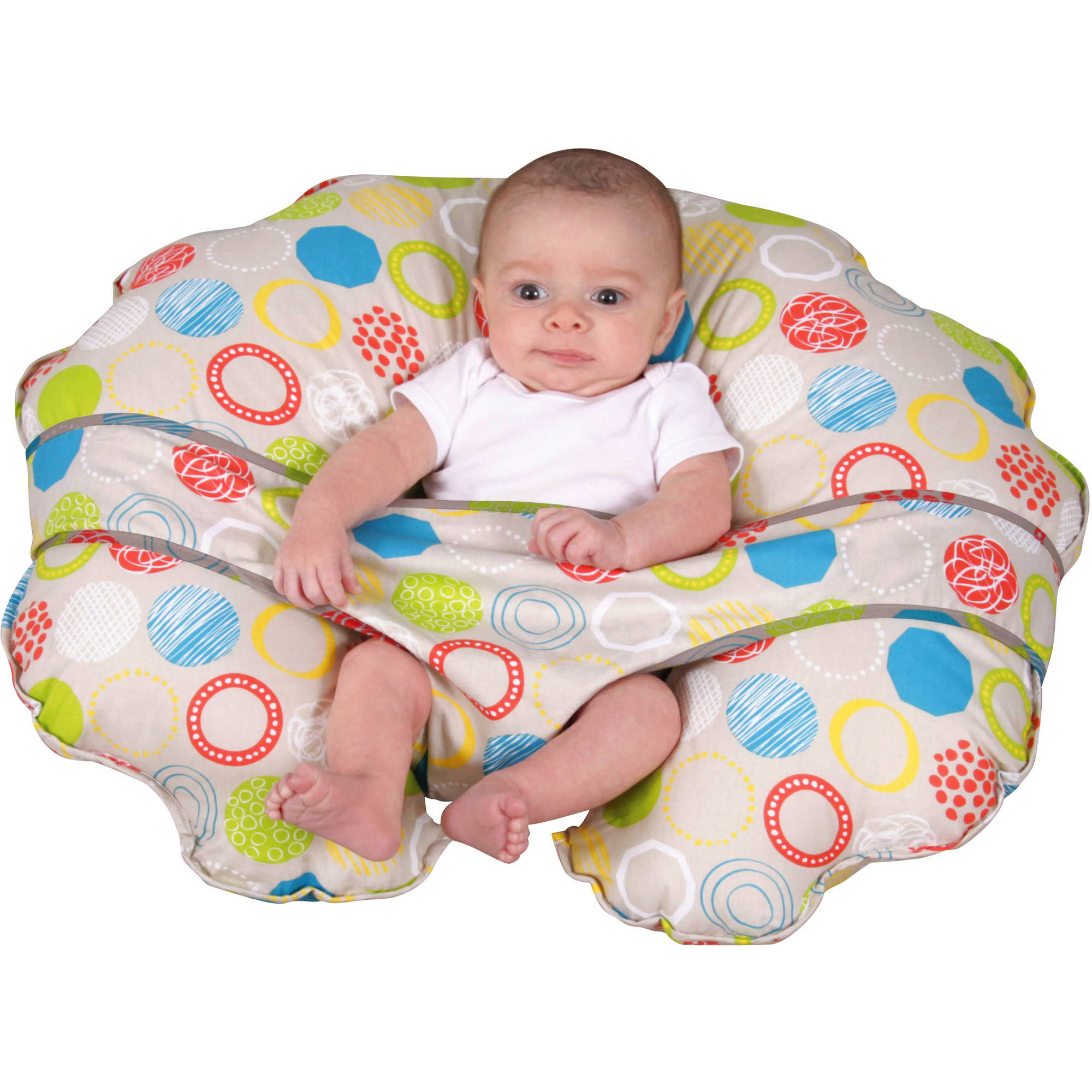 Leachco CuddleU Nursing Pillow and More Whimsy Rounds