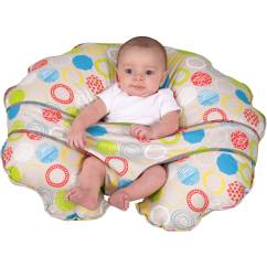 Boppy Baby Chair Bamboo Cushion Round Leachco Cuddle U Nursing Pillow And More With Slipcover