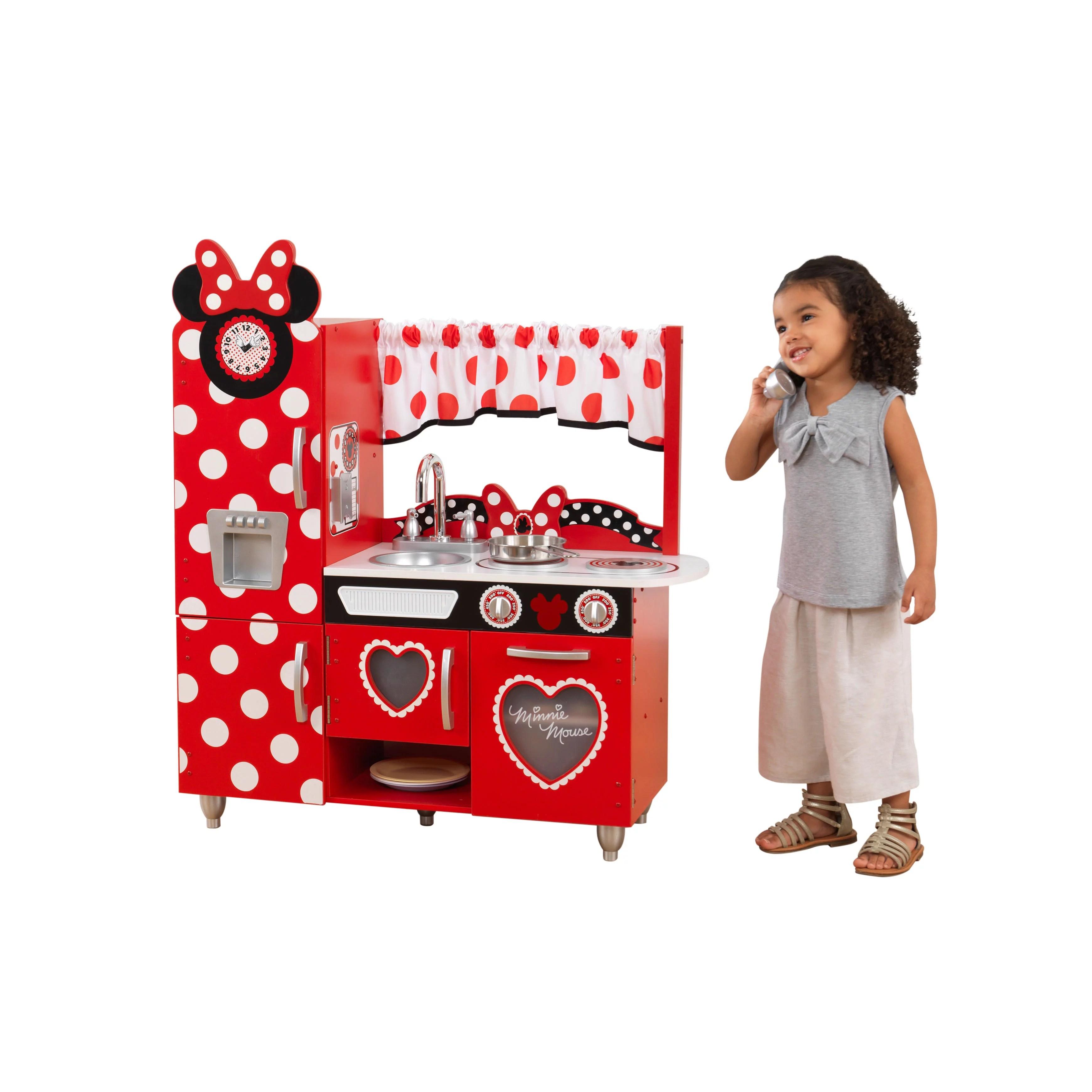 Disney Jr Minnie Mouse Vintage Play Kitchen By KidKraft
