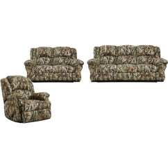 Camouflage Living Room Furniture Dividing A Large Cambridge Camo 3 Piece Set Sofa Loveseat Recliner