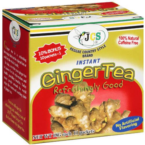 JCS Reggae Country Style Brand Instant Ginger Tea 11 ...