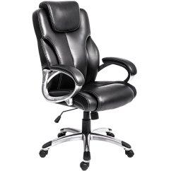 Computer Desk Chair Walmart Cane Dining Chairs Merax High Back Executive Office Black Ergonomic Com