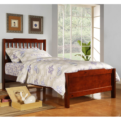 elise captain twin bed mahogany