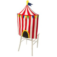Party Chair Covers Walmart Kitchen Table Cushions Big Top Circus Cover Com