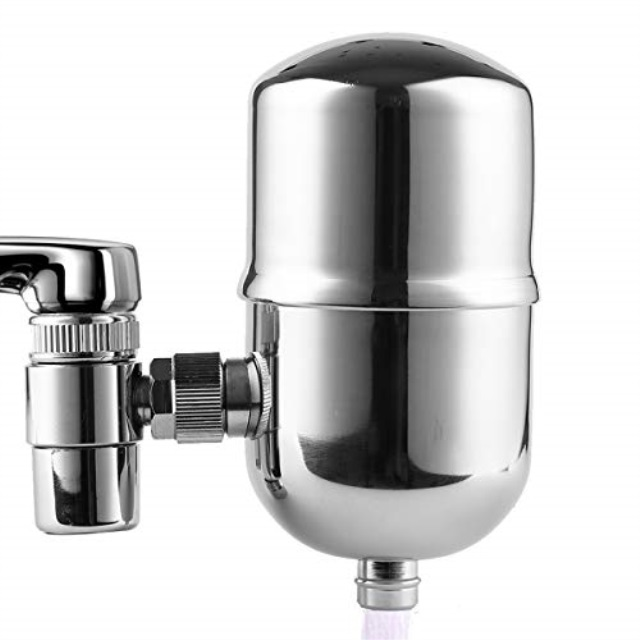 engdenton faucet water filter stainless steel reduce chlorine high water flow water purifier with ultra adsorptive material water filters for