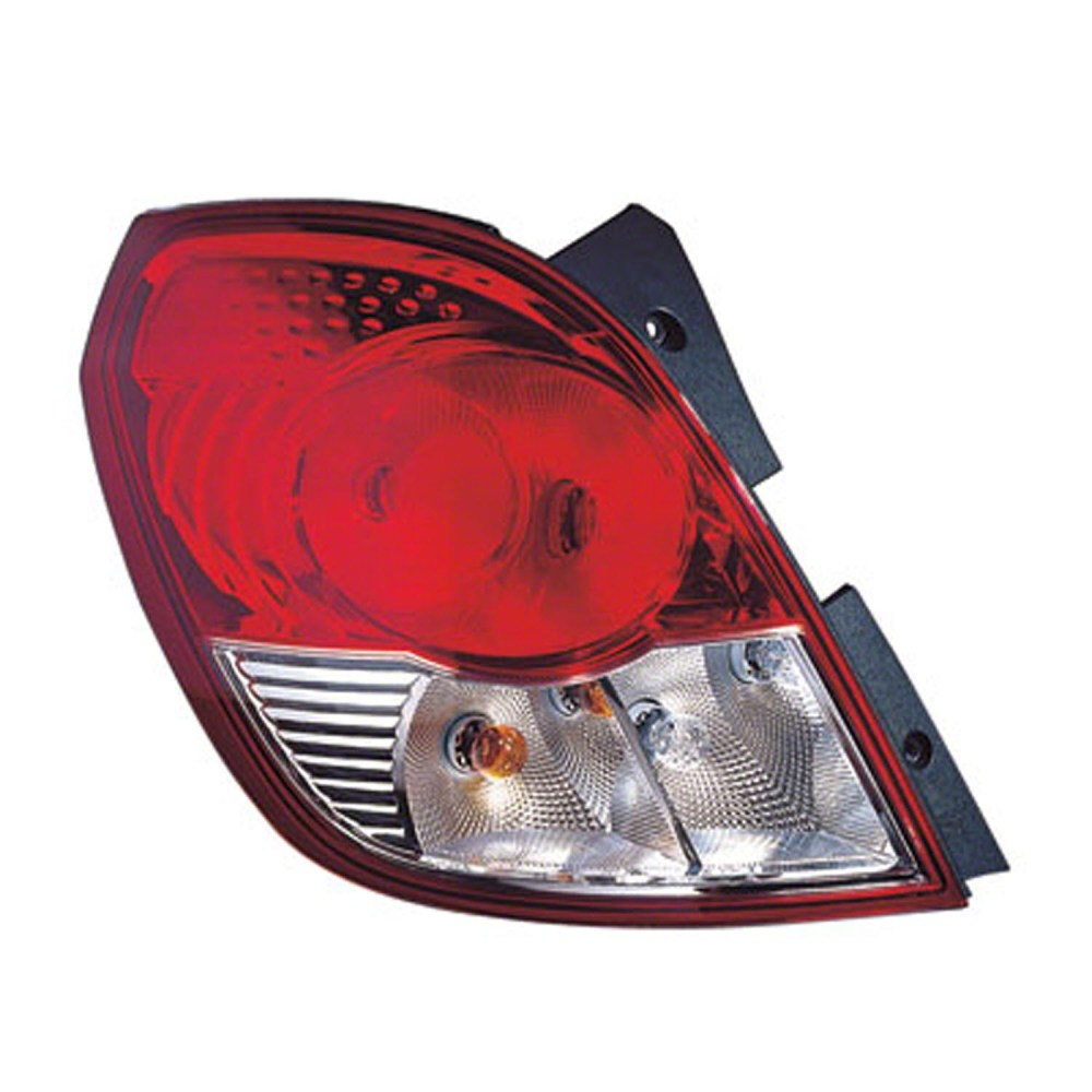 medium resolution of 2008 2009 saturn vue driver side left tail lamp assembly 96830929 includes wiring harness walmart com