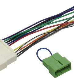 radio wiring harness for 1996 98 honda civic ha02b and ha03b dome light bypass kit by scosche ship from us walmart com [ 1500 x 960 Pixel ]