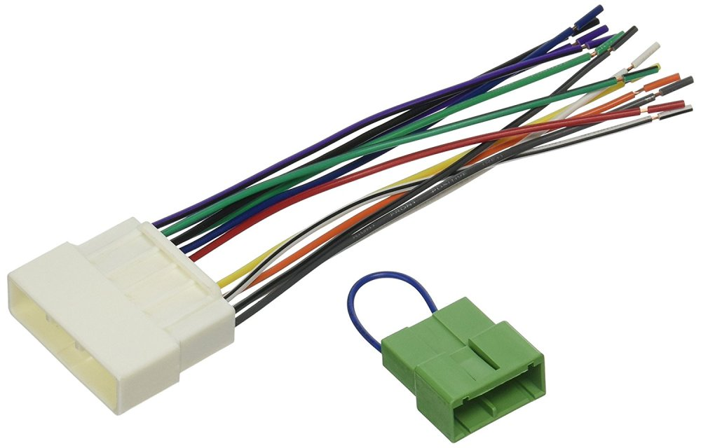 medium resolution of radio wiring harness for 1996 98 honda civic ha02b and ha03b dome light bypass kit by scosche ship from us walmart com