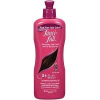 Fanci-Full Temporary Hair Color, 21 Plush Brown, 9 fl oz ...