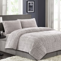 Better Homes and Gardens Faux Fur Bedding Comforter Set ...