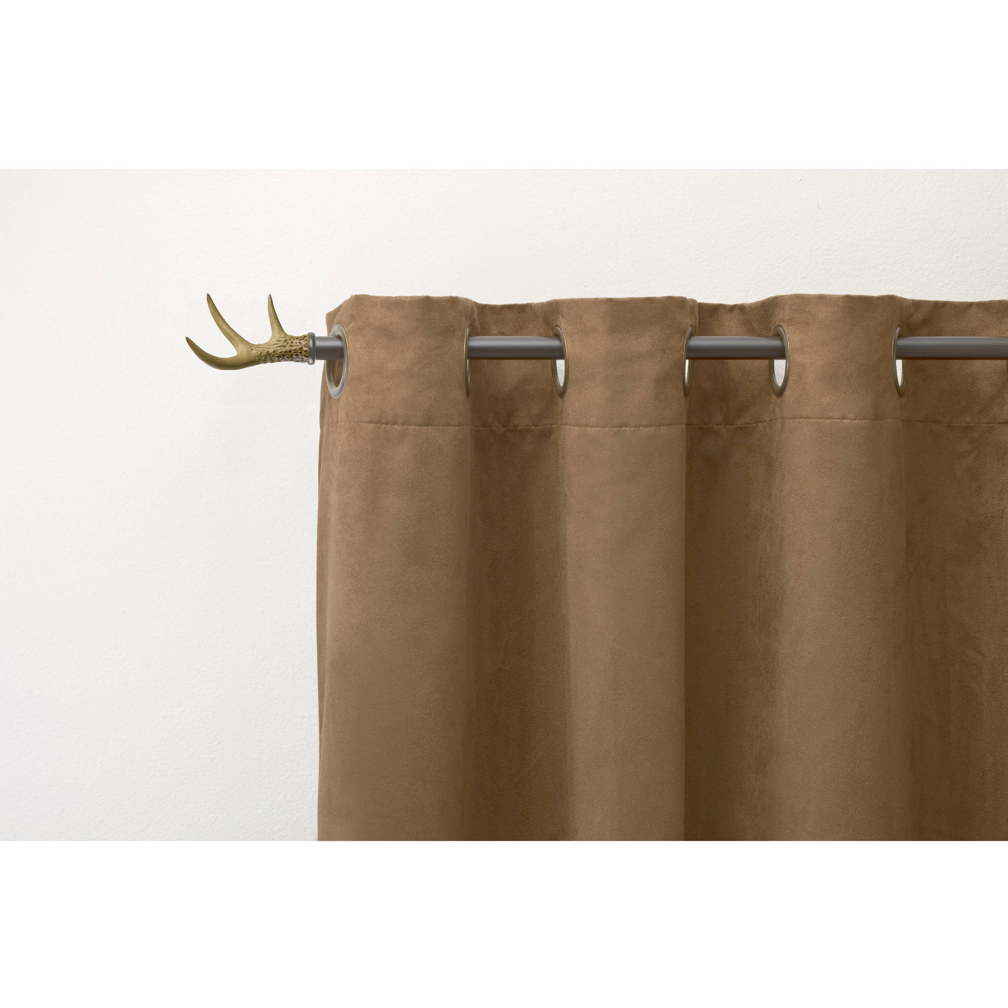 better homes and gardens antler curtain rod 5 8