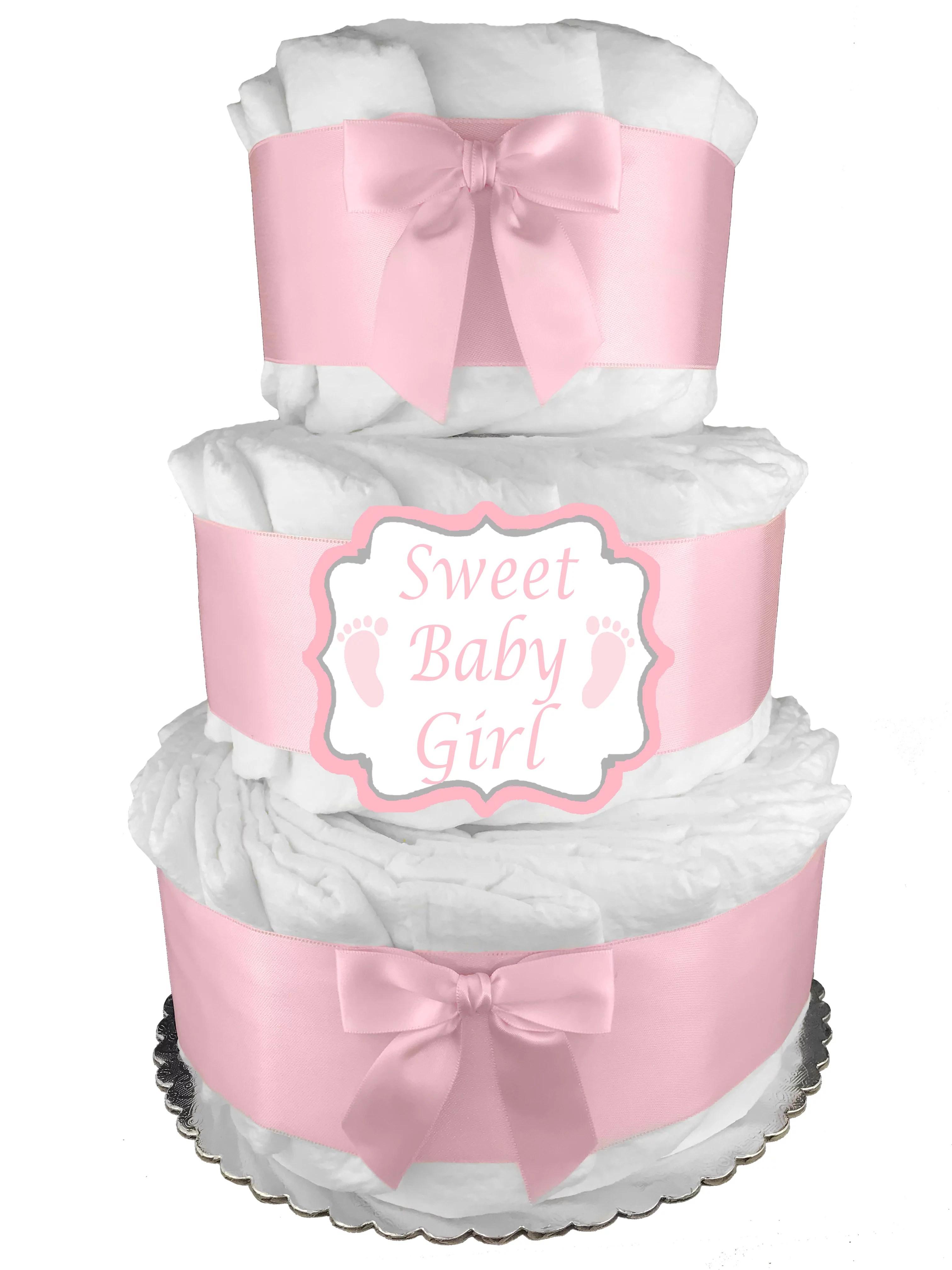 Baby Shower Cakes At Walmart : shower, cakes, walmart, 3-Tier, Diaper, Shower, Newborn, Walmart.com
