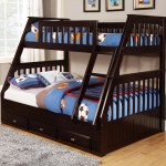 American Furniture Classics Model 2918 Tfe Solid Pine Mission Staircase Twin Full Bunk Bed With Three Drawers In Espresso Walmart Com Walmart Com