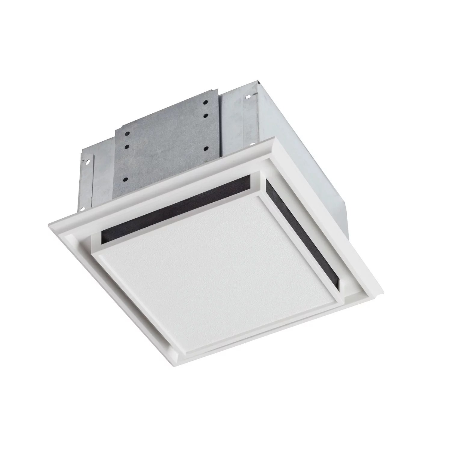 hight resolution of broan 682 bathroom ventilation fan with charcoal filter and white plastic grille walmart com
