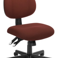 Upholstered Computer Chair Lawn With Canopy And Footrest Burgundy Model 241 24 Hour Ergonomic Multi Adjustable Armless Task 250 Lbs Weight Capacity Walmart Com